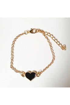 Новинка: браслет с черным сердечком Kokette